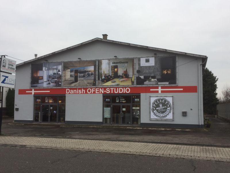 Standort des Danish Ofen-Studio in Mühlheim-Kärlich