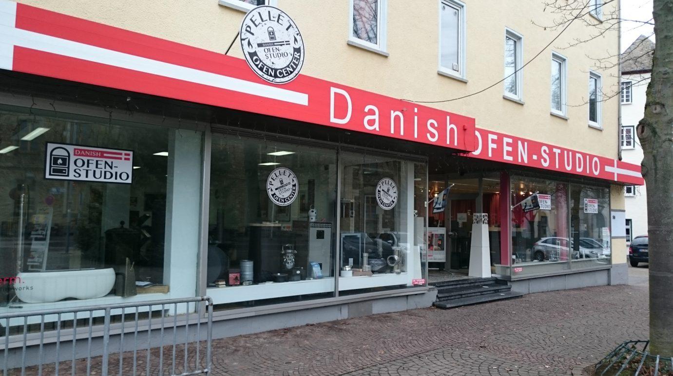 Standort des Danish Ofen-Studio in Montabaur